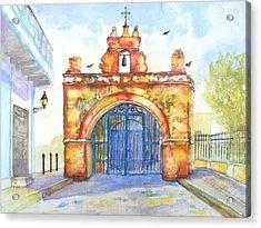 Capilla Del Cristo Puerto Rico Acrylic Print by Carlin Blahnik