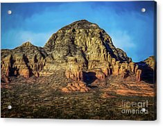 Capital Butte Acrylic Print by Jon Burch Photography