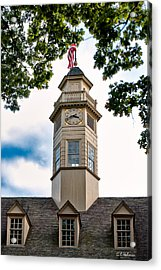 Capitol Time Acrylic Print by Christopher Holmes