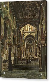 Cappella Palatina, Palermo  Acrylic Print by Frederic Leighton