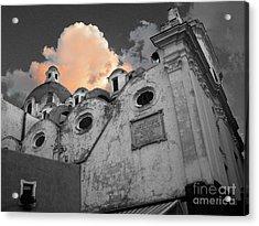 Capri Church Acrylic Print by Jim Wright