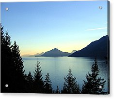 Captivating Howe Sound Acrylic Print by Will Borden