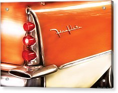 Car - The Wing Acrylic Print by Mike Savad