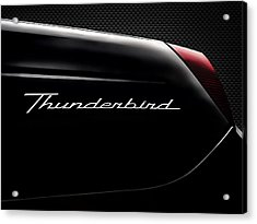 Carbon Black Thunder Acrylic Print by Douglas Pittman