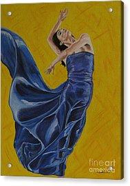 Carefree Acrylic Print by Betta Artusi