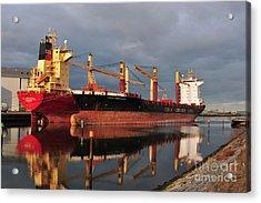 Cargo Fleet Acrylic Print by Stephen Smith