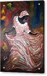 Caribbean Dancer Acrylic Print by Laura Fatta