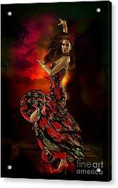 Carmen Acrylic Print by Shanina Conway