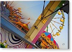 Carnival 1 Acrylic Print by Skip Hunt