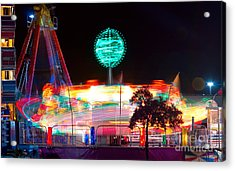 Carnival Excitement Acrylic Print by James BO  Insogna