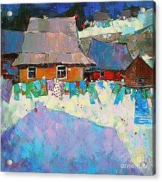 Carpathian Assorted Acrylic Print by Anastasija Kraineva