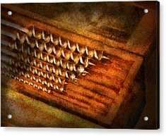 Carpenter - Auger Bits  Acrylic Print by Mike Savad