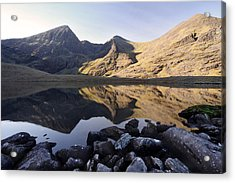 Carrauntoohill Ireland's Tallest Mountain Acrylic Print by Pierre Leclerc Photography
