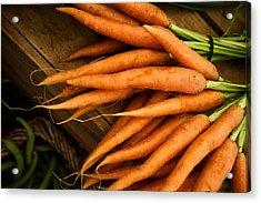 Carrots Acrylic Print by Tanya Harrison