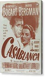 Casablanca Acrylic Print by Georgia Fowler