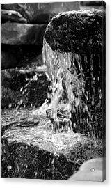 Cascading Water Acrylic Print by Kristin Smith