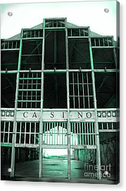 Casino Acrylic Print by Colleen Kammerer