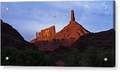 Castle Towers Acrylic Print by Chad Dutson