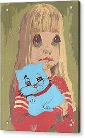 Cat 2 Acrylic Print by William Douglas