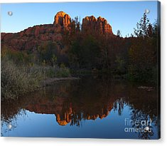 Cathedral Light Acrylic Print by Mike Dawson