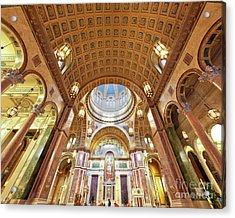 Cathedral Of St. Matthew Viii Acrylic Print by Irene Abdou