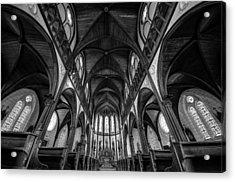 Cathedral Acrylic Print by Tomoshi Hara