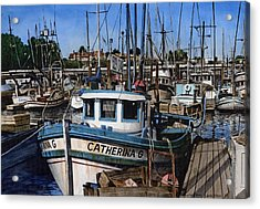 Catherina G Acrylic Print by James Robertson