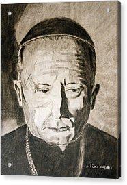Catholic Cardinal Jozsef Mindszenty Acrylic Print by Arline Wagner