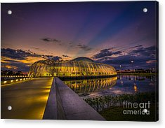 Causeway To Learning Acrylic Print by Marvin Spates