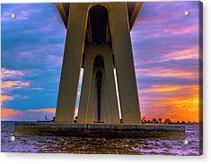Causeway Tunnel Acrylic Print by Michael Frizzell