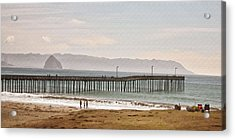 Caycous Pier II Acrylic Print by Sharon Foster