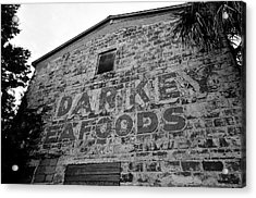 Cedar Key Sea Foods Acrylic Print by David Lee Thompson