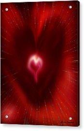 Celebrate Love Acrylic Print by Linda Sannuti
