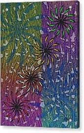 Celebration Acrylic Print by Gordon Beck
