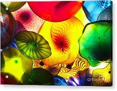 Celestial Glass 2 Acrylic Print by Xueling Zou