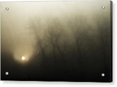Celestial Melody To The Earth Acrylic Print by Yvette Depaepe