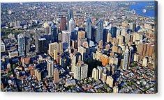 Center City Philadelphia Large Format Acrylic Print by Duncan Pearson