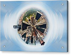 Eye Of New York Acrylic Print by Az Jackson