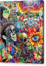 Cerebral Dysfunction Acrylic Print by Callie Fink