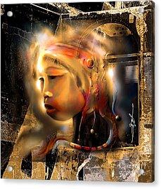 Ceremonial Queen  Acrylic Print by Bob Salo