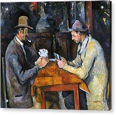 Cezanne: Card Player, C1892 Acrylic Print by Granger