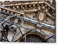 Chained Ruins Acrylic Print by Joshua Ball