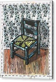 Chair Ix Acrylic Print by Peter Allan
