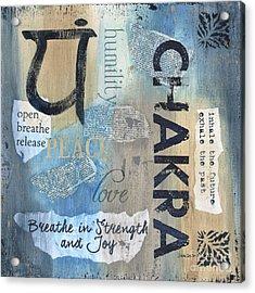 Chakra Acrylic Print by Debbie DeWitt