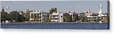 Charleston Battery Row Panoramic Acrylic Print by Dustin K Ryan