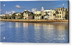 Charleston Battery Row South Carolina  Acrylic Print by Dustin K Ryan