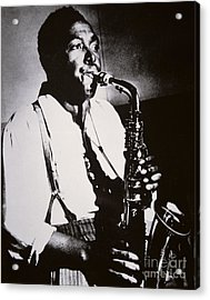 Charlie Parker Acrylic Print by American School
