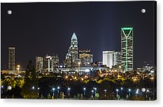 Charlotte Night Acrylic Print by Brian Young