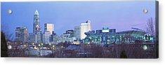 Charlotte North Carolina Usa Acrylic Print by Panoramic Images