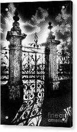 Chateau De Carrouges Acrylic Print by Simon Marsden